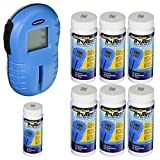 AquaChek Hot Tub Spa TruTest Digital Chlorine Test Strip Kit Reader & 625 Strips