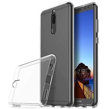 DYGG Compatible con Funda para Huawei Mate 10 Lite Carcasa Silicona Transparente TPU Protector Airbag Anti-Choque Ultra-Delgado Case Caso ...
