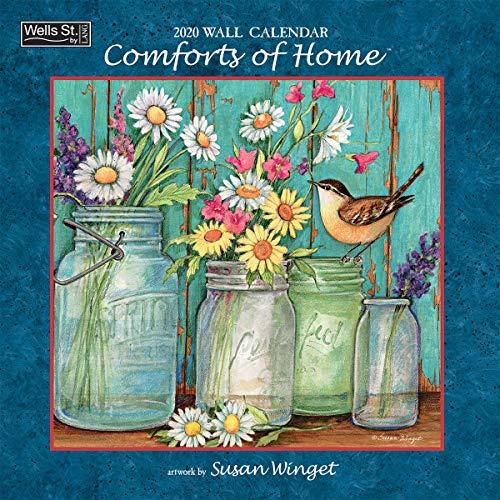 Comforts of Home 2020 Wall Calendar