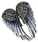 Best Bling Jewelry Birthday Gift For Women - Angel Jewelry Women's Crystal Angel Wings Bling Pin Review