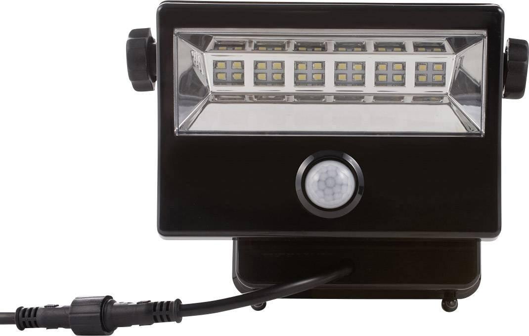 Diodor LED Solar Fluter mit Bewegungsmelder und Fernbedienung, 1 Stü ck, weiß , DIO-FL16W-WM-SP-W
