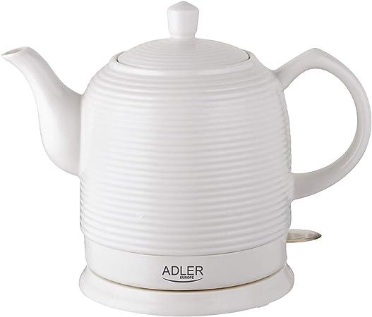 Oferta amazon: Adler - AD1280 - Hervidor De Agua eléctrico Ceramico 1,20 Litros 1500w - Blanco