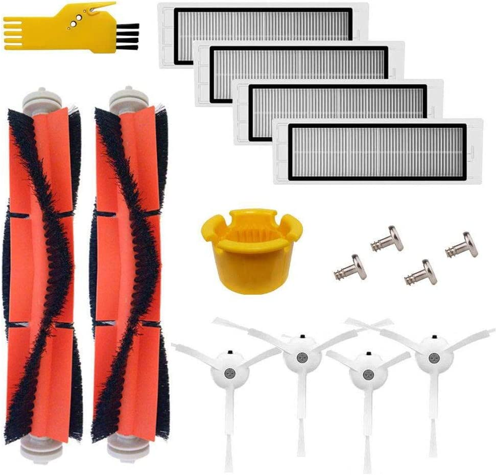 1 Set Fit for XIAOMI Mi Robot Vacuum Cleaner Tool Main/&Side Brushes/&Filter Kit