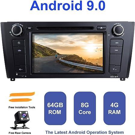 Android Auto Radio Stereo Zltoopai Für Bmw E81 E82 E87 E88 1 Serie Android 9 0 Octa Core 4g Ram 64g Rom 7 Zoll Hd Multi Touchscreen Auto Stereo Gps Radio Dvd Player Mit Rückfahrkamera