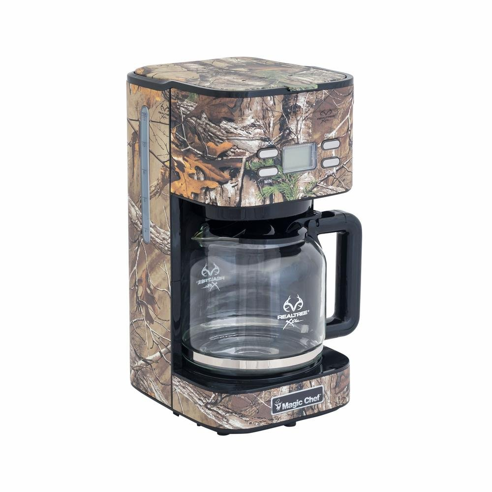 12-Cup Realtree Xtra Camouflage Coffee Maker by Magic Chef
