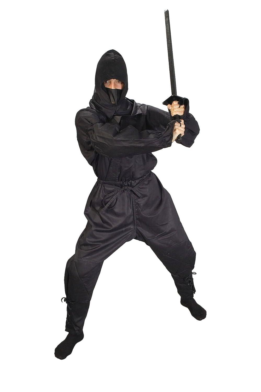 Traje de ninja, color negro, unisex, color - negro, tamaño ...