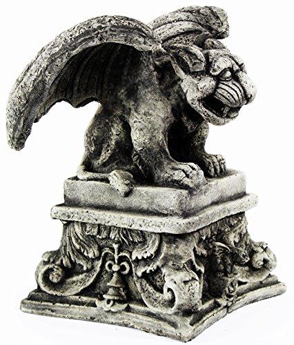 Gargoyle Garden Statue on Pedestal
