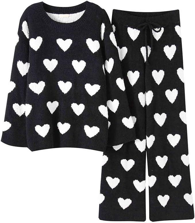 Pijamas de algodón para Mujer Vestidos caseros para el otoño y el ...