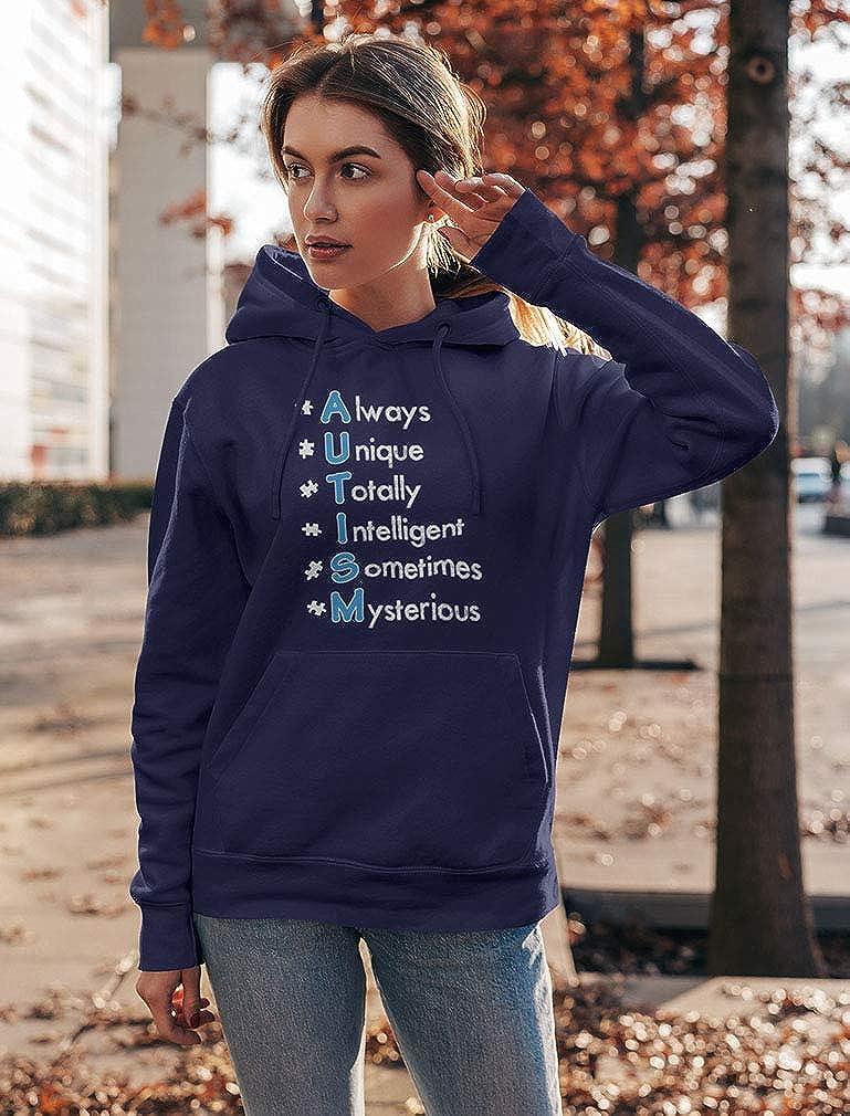 Autism Always Unique TeeStars Autism Awareness Women Sweatshirt
