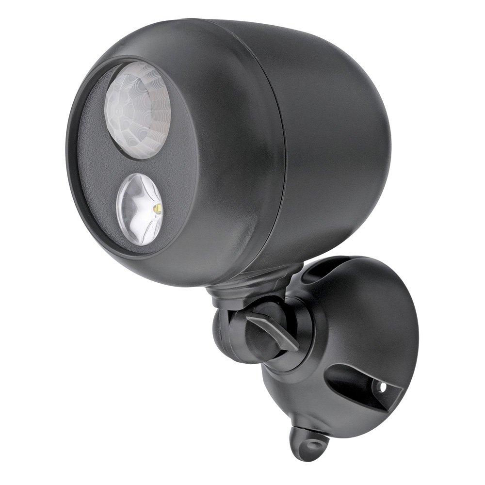 Mr Beams Mb360 Wireless Led Spotlight With Motion Sensor And 240 Wire Diagram Polaroid Camera Photocell Dark Brown Landscape Spotlights