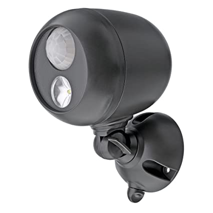 Mr beams mb360 wireless led spotlight with motion sensor and mr beams mb360 wireless led spotlight with motion sensor and photocell weatherproof battery operated mozeypictures Images