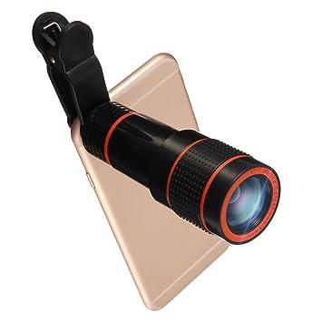 Lentes Movil 12x Zoom,Hizek Lentes para Camara Telefono Universal ...