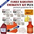 ☢ Family Radiation Protection Kit PLUS - Premium protection from radioactive iodine I-131 during a nuclear radiation emergency such as Fukushima