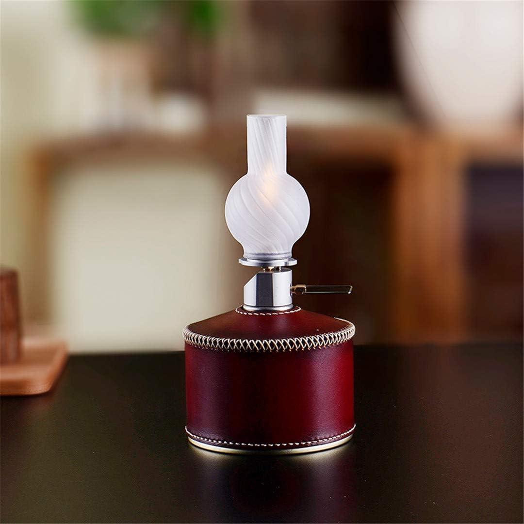 Motorhelay Gas Lampe Glas Laterne im Freien kampierende Lampe Ersatz Lampshade Zubehör B16