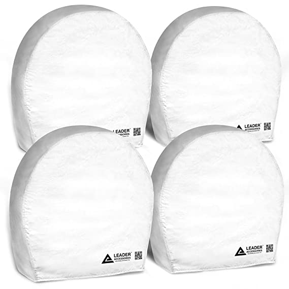 Leader Accessories 4pcs RV Tire/Wheel Covers Camper Car Trailer Truck (32