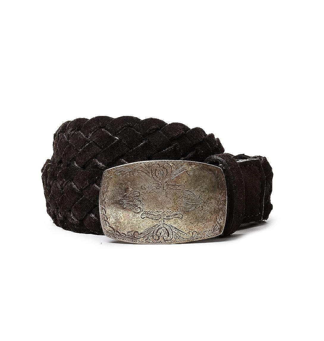 Eleventy Mens 979CI0007CIN1800417 Brown Leather Belt