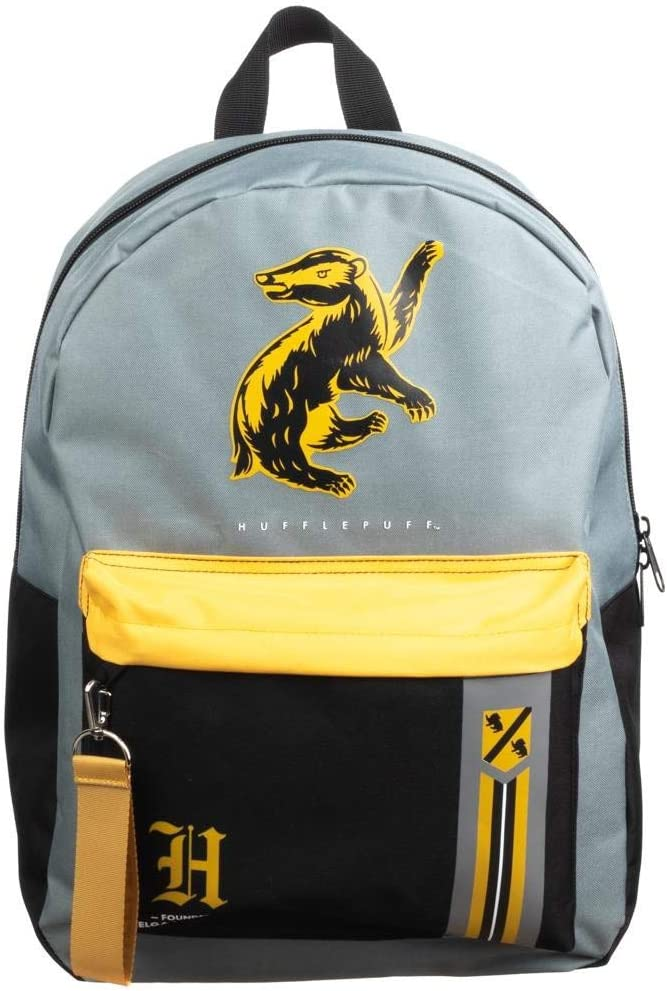 Amazon.com | Harry Potter Hufflepuff Hogwarts House Backpack | Casual Daypacks