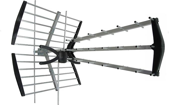 Antena VHF-UHF 18dB AX1000+LTE Combo Proline LTE 4G