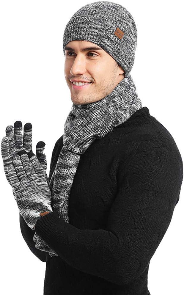Gloves Winter Warm And Neck Scarf Neck Warmer Hat Scarf Gloves Set Beanie Hat