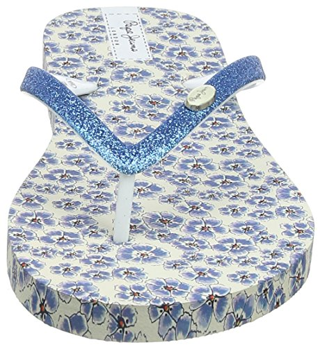 Jeans Bleu Azzurro Pepe Femme Coco Rake Tongs 48cTqwOB