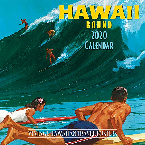 Pacifica Island Art - 2020 Wall Calendar - Hawaii Bound by Pacifica Collection