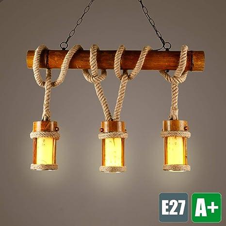 E27 araña 3 – Lámpara de techo colgante la Industria lámpara ...