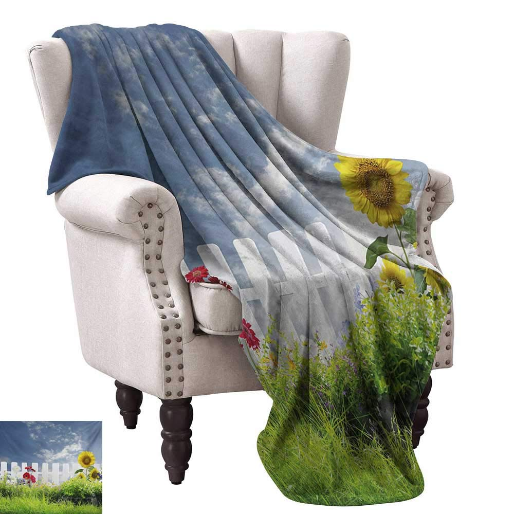 Amazon.com: WinfreyDecor Rustic Home Throw Blanket Grass ...