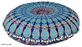 These covers are made with 100% cotton fabric and printed and handicrafted in India. These pillows can be mixed with contemporary,Modern or traditional decor, A Charming pillow Cover With Pom Pom Lace. They are attractive as each one is a art...
