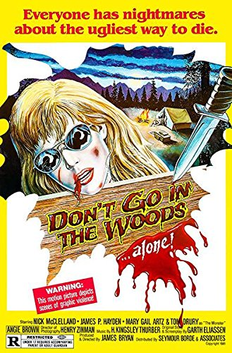 Don't Go In The Woods - 1981 - Movie Poster Magnet