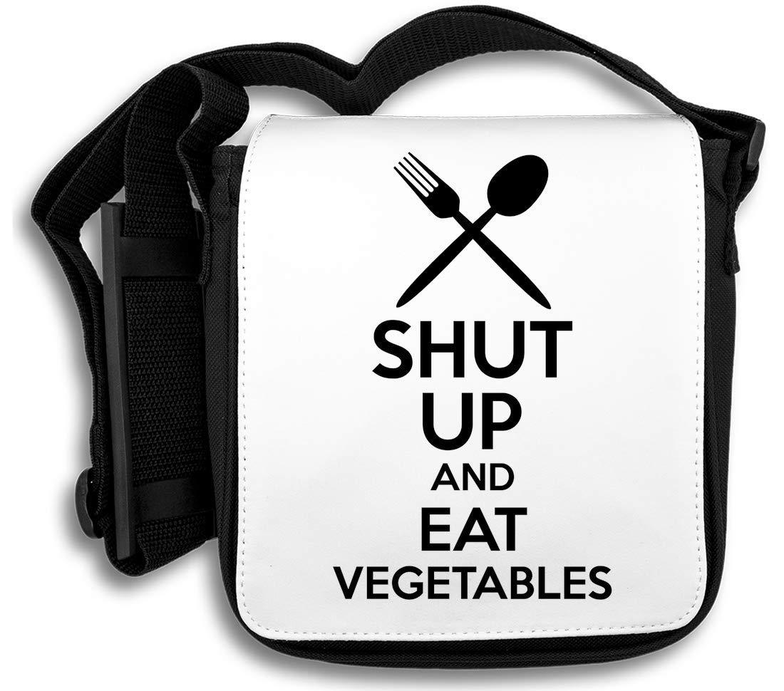 Shut Up and Eat Vegetables Sac d'épaule