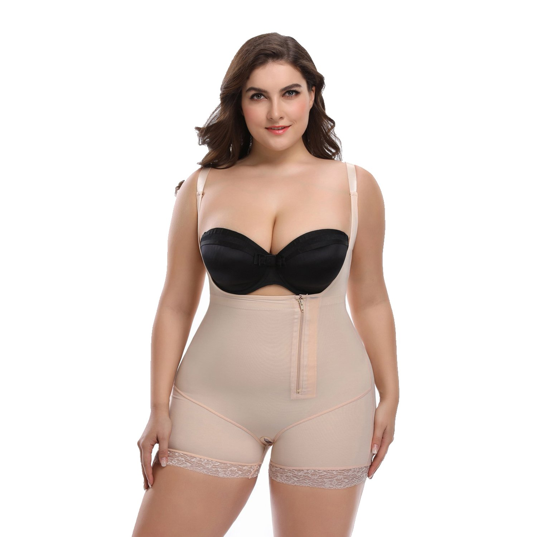 Queenral Butt Lifter Waist Slimming Body Shaper for Women Tummy Plus Size S-6XL