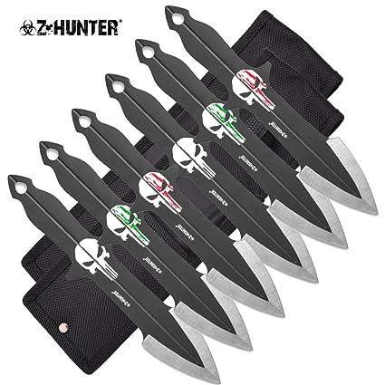 Amazon.com: Z-Hunter - Juego de 6 cuchillos de rociador para ...