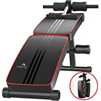 Dolphy Foldable Sit Up Bench for Home Gym Abs Exercises