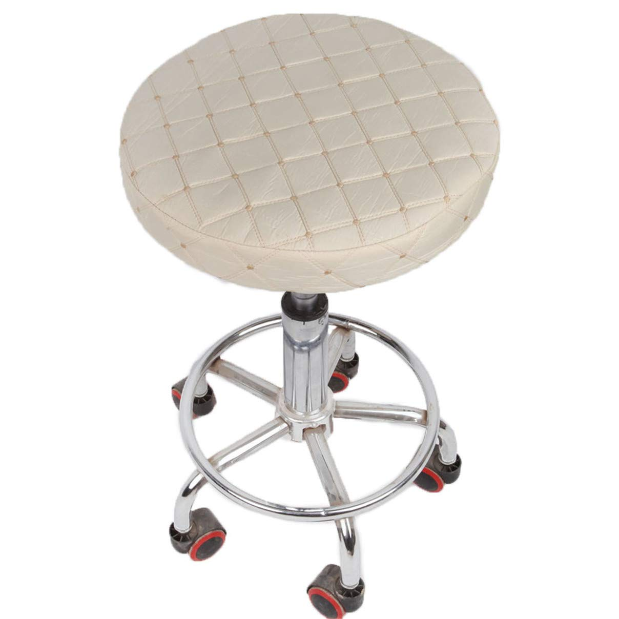 Essencedelight Stool Cover Seat Cushion Round Padded Bar Stool Thick Cover Comfortable to Relieve Pressure Chairs Covers