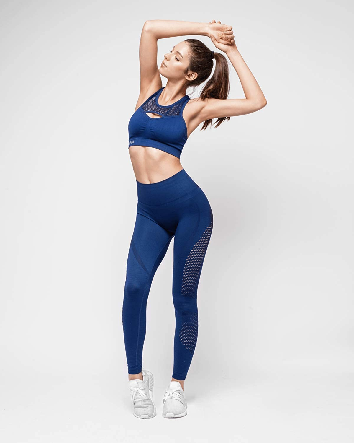 Womens HERA x HERO Le Papillon Seamless Stretch Knit Leggings for Women Non See Thru Our Signature Aesthetic Fit