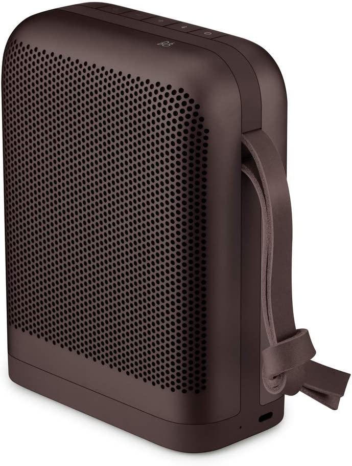 Bang Olufsen Beoplay P6 Portable Bluetooth Speaker with Microphone, Chestnut – 1140052