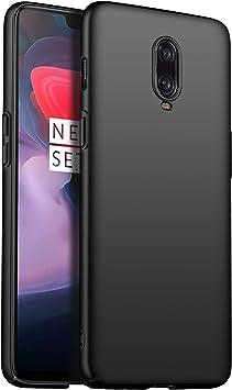TenYll para Funda OnePlus 6T, Nueva Cubierta Delgado Caso PC Back Cases Cover para OnePlus 6T -Negro: Amazon.es: Electrónica