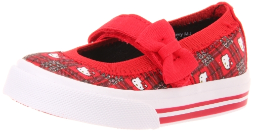 Keds Charmmy Sneaker (Toddler/Little Kid),Red Plaid,5 M US (Keds Canvas Mary Janes)
