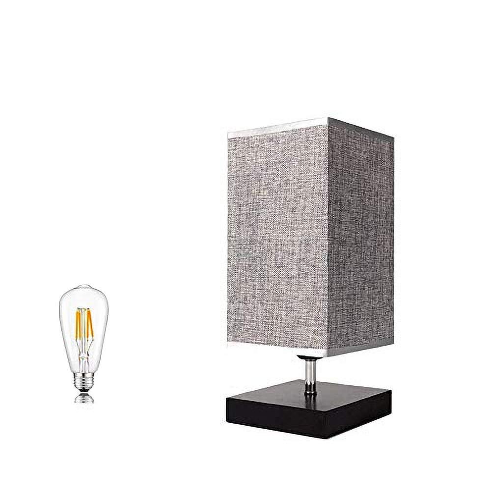 ベッドサイドランプ 和風スタンド テーブルライト フロアスタンド LED電球付き インテリアライト 間接照明 常夜灯 product image