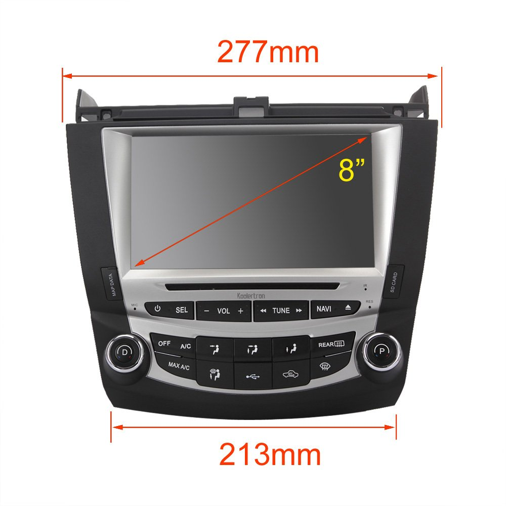 amazon com koolertron for 7 th 2003 2004 2005 2006 2007 honda jbl wiring  diagram amazon