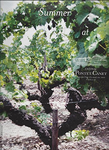 MAGAZINE ADVERTISEMENT For Chateau Pontet Canet Wine Grape Vineyard (1976 Chateau)