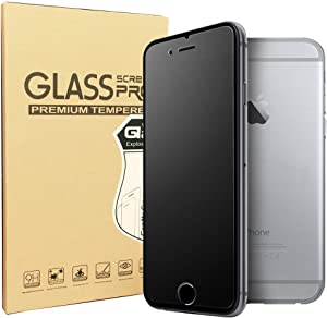 SONTO Compatible Matte Glass Screen Protector for iPhone 6 Plus 6s Plus Tempered Glass/Anti-Fingerprint/ Anti-Glare/Ultra-Thin/Smooth Touch (iPhone6 Plus/6s Plus)