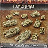 Flames of War: Mid War: British: Churchill's Kingforce Army Box