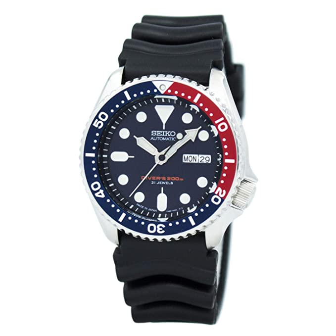 2. Seiko Blue Dial Automatic Men's Dive Watch