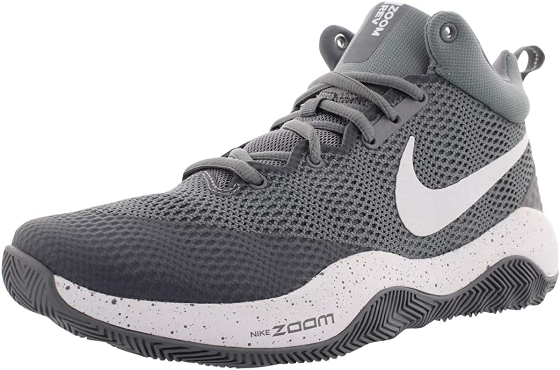 Amazon.com   Nike Men's Zoom Rev Ankle-High Basketball Shoe   Basketball