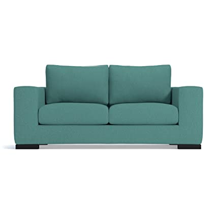 Amazon.com: Hillandale Apartment Size Sofa, Seafoam, 78