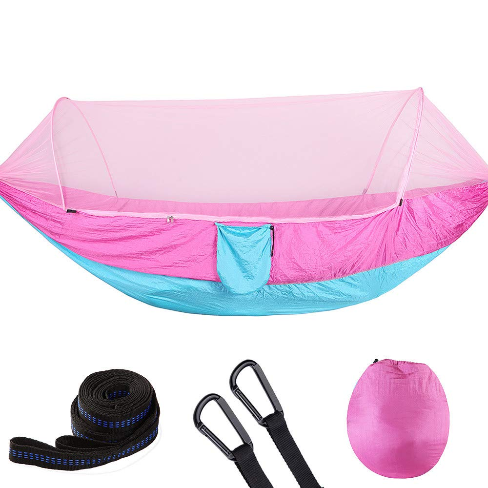 Yoyorule Camping & Hiking Tool Portable Outdoor Camping Mosquito Net Nylon Hammock Hanging Bed Sleeping Swing by Yoyorule