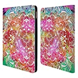 Head Case Designs Watercolour Mandala Doodles Leather Book Wallet Case Cover for Apple iPad Air 2