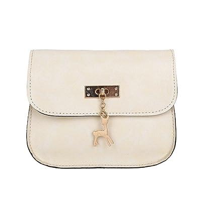 d1f95b8a0213 Womens Leather Crossbody Bag small Deer Shoulder Bags Purse Messenger Bag  women s handbags totes shoulder bags