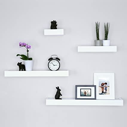 539a2baec3f Amazon.com  Ballucci Modern Ledge Wall Shelves